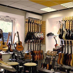 Музыкальные магазины Режа